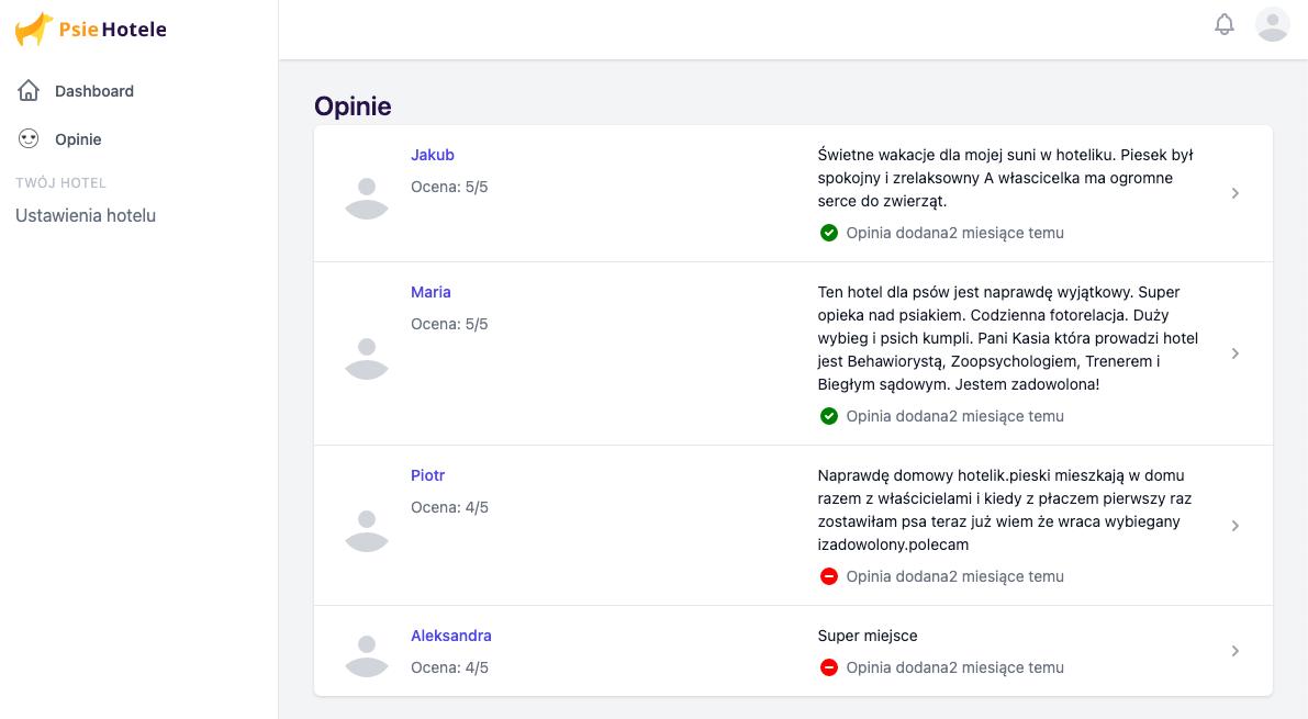 Opinie użytkowników